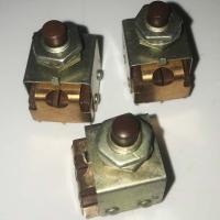Кнопка малогабаритная КМ2-1 (двухполюсная) - фото №1