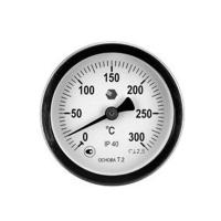 Фото термометра D63мм/L100мм-О